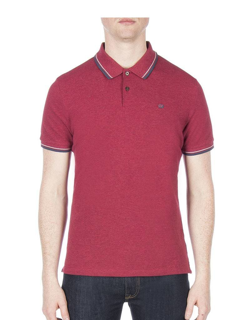 Ben Sherman Romford Polo Shirt | Red MC11485D87