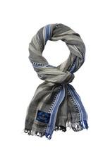 Scotch & Soda Cotton Scarf | Blue/ Grey 136608-0217