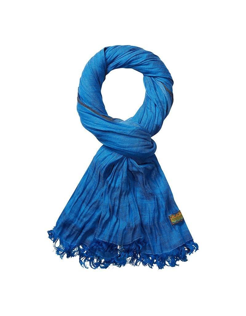 Scotch & Soda Cotton Scarf   Royal Blue Melange 136618-1148