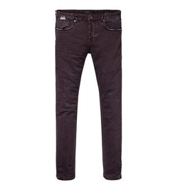 Scotch & Soda Dylan Pant | Garment Dyed 5-pocket Pant | Purple Rock 139528-1527