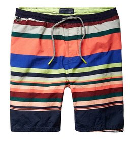 Scotch & Soda Classic Striped Swimshort | Multi 136687-0217