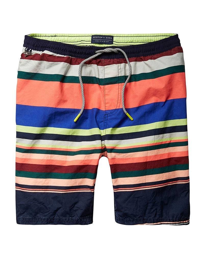Scotch & Soda Classic Striped Swimshort   Multi 136687-0217