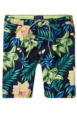 Scotch & Soda Printed Classic Swimshorts |Habiscus 136688-0461