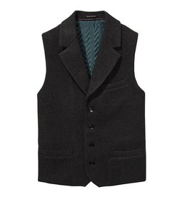 Scotch & Soda Gillet With Lapel in Wool Quality | 139489-0607