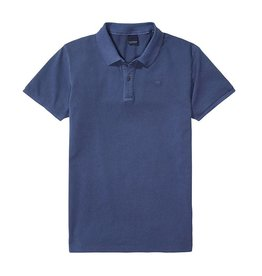 Scotch & Soda Garment Dyed Polo | Blue Ash 134350-0W