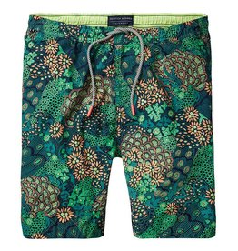 Scotch & Soda Printed Classic Swimshorts |Jungle 136688-0587