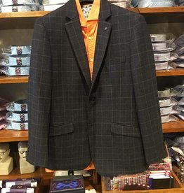 Tokyo Laundry Sigmond Charcoal Jacket