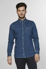 Denham Denim Button Through Shirt