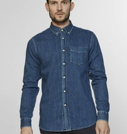 Denham Denim Button Through Shirt