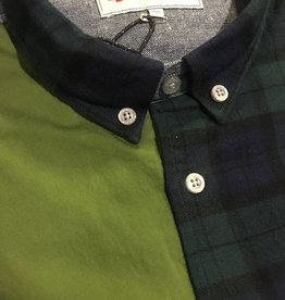 Penfield Crowley Patchwork Shirt   Mixed