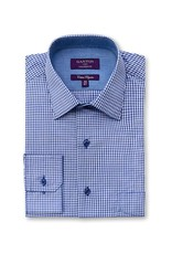 Ganton Blue Business Shirt - 3005ACK