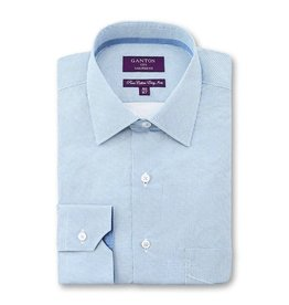 Ganton Blue Circles Business Shirt - 3043SST