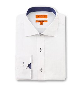 Ganton White Business Shirt - 3081VSSPK