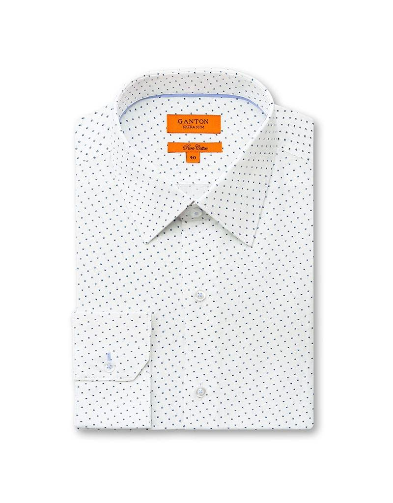 Ganton Blue Business Shirt - 4008SSN