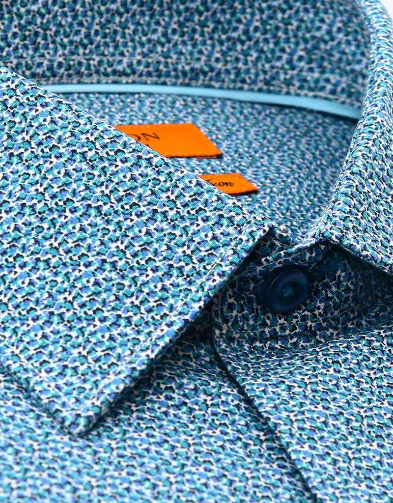 Ganton Blue Dress Shirt - 5003CCN