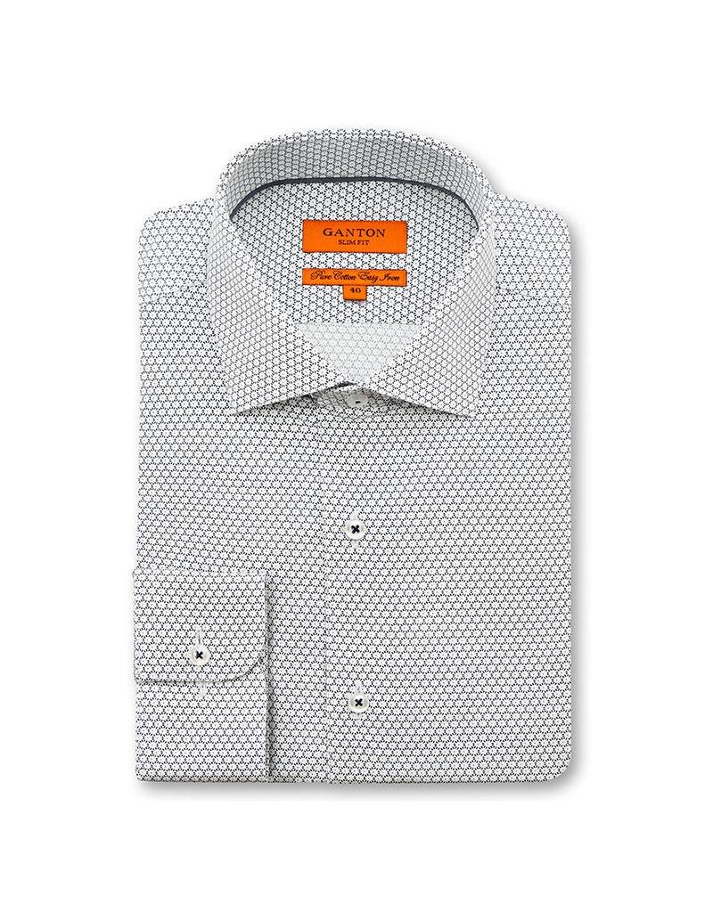 Ganton Navy Business Shirt - 6009MSSN