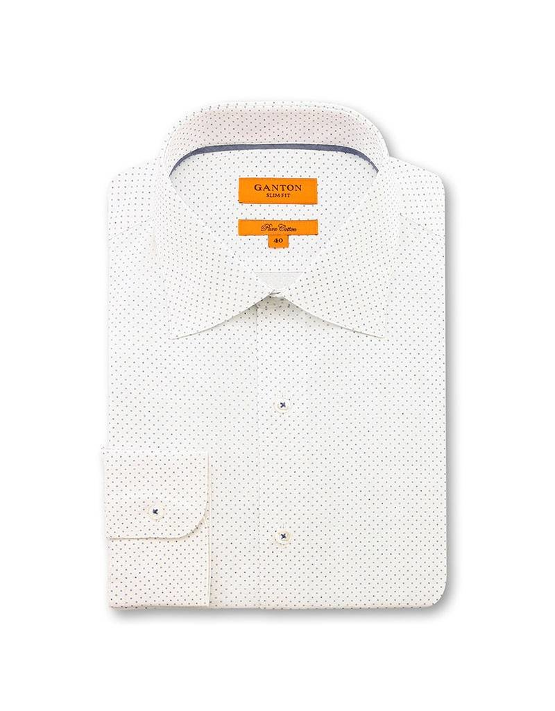 Ganton Blue Business Shirt - 6044CSSN