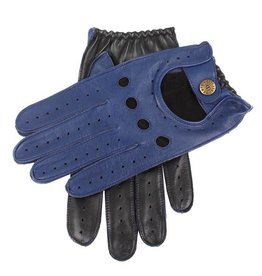 Dents Two-tone Driving Gloves | Blue / Black
