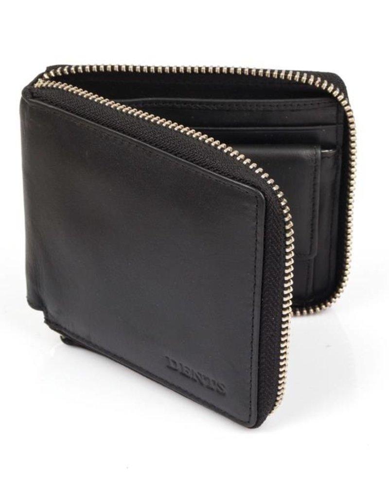 Dents Black Wallet   23-5114