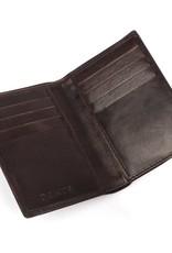 Dents Chocolate / Orange Wallet | 23-5196