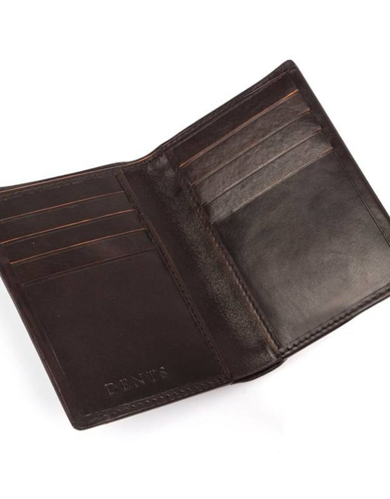 Dents Chocolate / Orange Wallet | 23-5196
