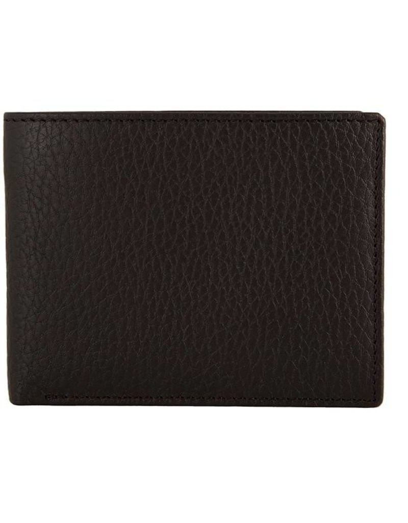 Dents Black / Red Wallet | 23-5197