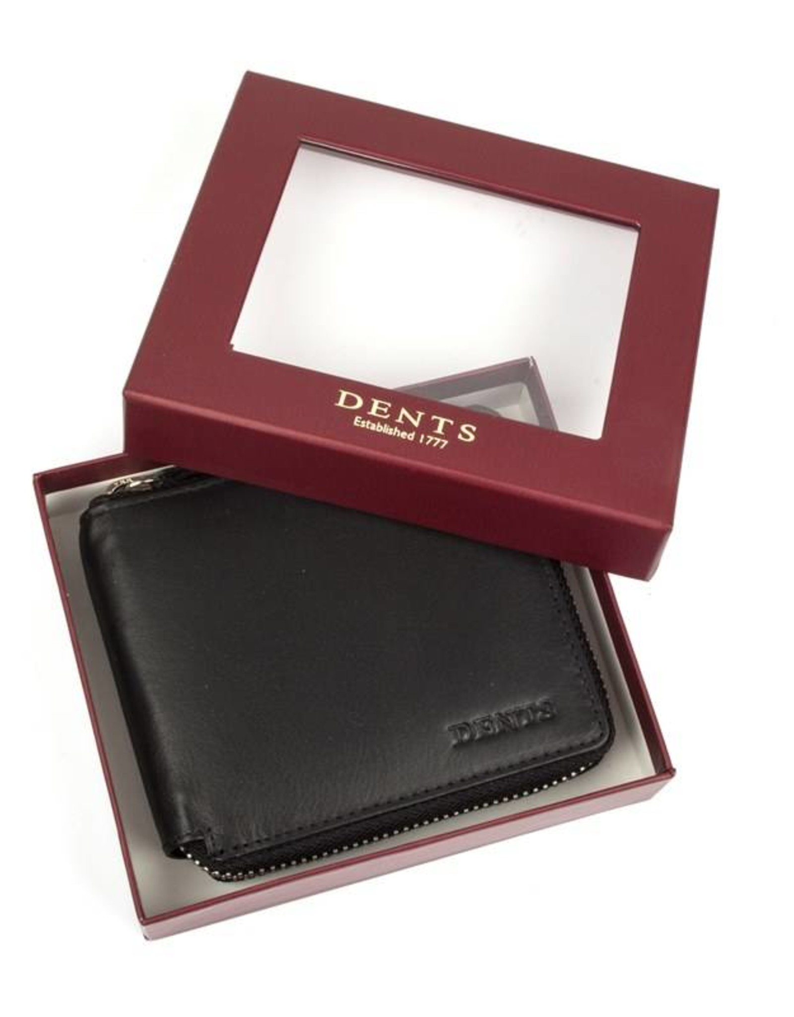 Dents Black Wallet | 23-5114