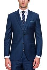 Cambridge Code Suit Jacket | Navy Blue