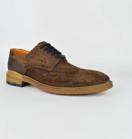 Ambitious Gusto Suede Leather Shoes   Brown