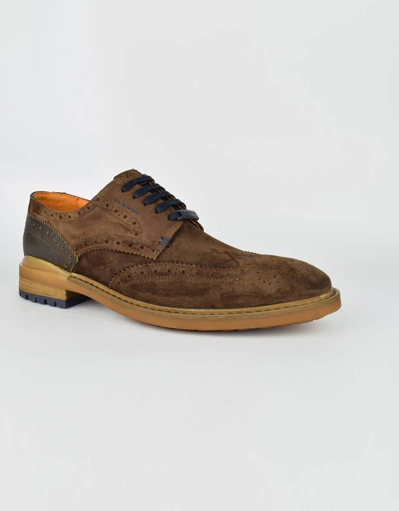 Ambitious Gusto Suede Leather Shoes | Brown