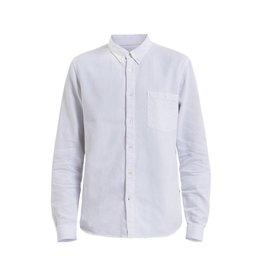 No Nationality Falk Dobby Button Through   White