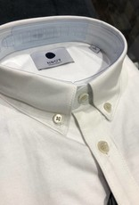 No Nationality Sixteen Oxford Button Through | White