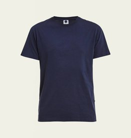No Nationality Pima Smart Tee | Navy Blue