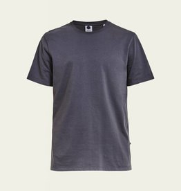 No Nationality Pima Smart Tee | Dark Grey