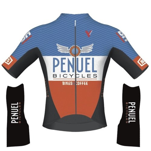 Penuel Bicycles Penuel Bicycles Team Race Pro Short Sleeve Jersey