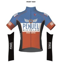 Penuel Bicycles Penuel Bicycles Club Fit Short Sleeve Jersey
