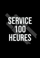 Service 100 hrs