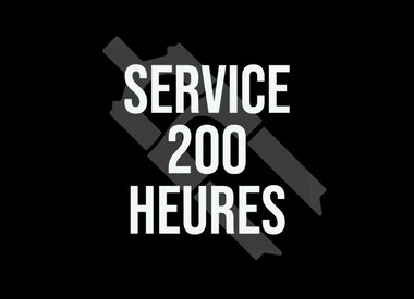 Service 200 hrs