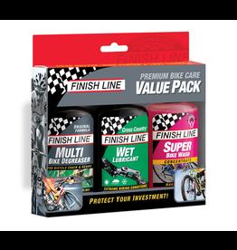 Finish Line VALUE PACK (4OZ ECO/WET/WASH) CS 6