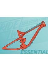 Ridewrap Essential Frame Protection Kit, Collective Series, Clear Gloss Finish