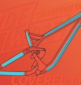 Ridewrap Ridewrap Covered Frame Protection Kit, MTB, Collective Series, Clear Gloss Finish, Small / Medium Frame Size