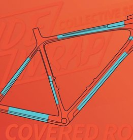 Ridewrap Ridewrap Covered Frame Protection Kit, Road, Collective Series, Clear Gloss Finish, Small / Medium Frame Size