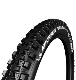 Michelin Michelin, Wild Enduro Rear, Tire, 29''x2.40, Folding, Tubeless Ready, GUM-X, GravityShield, 60TPI, Black