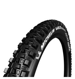 Michelin Wild Enduro Rear, Tire, 27.5''x2.40, Folding, Tubeless Ready, GUM-X, GravityShield, 60TPI, Black