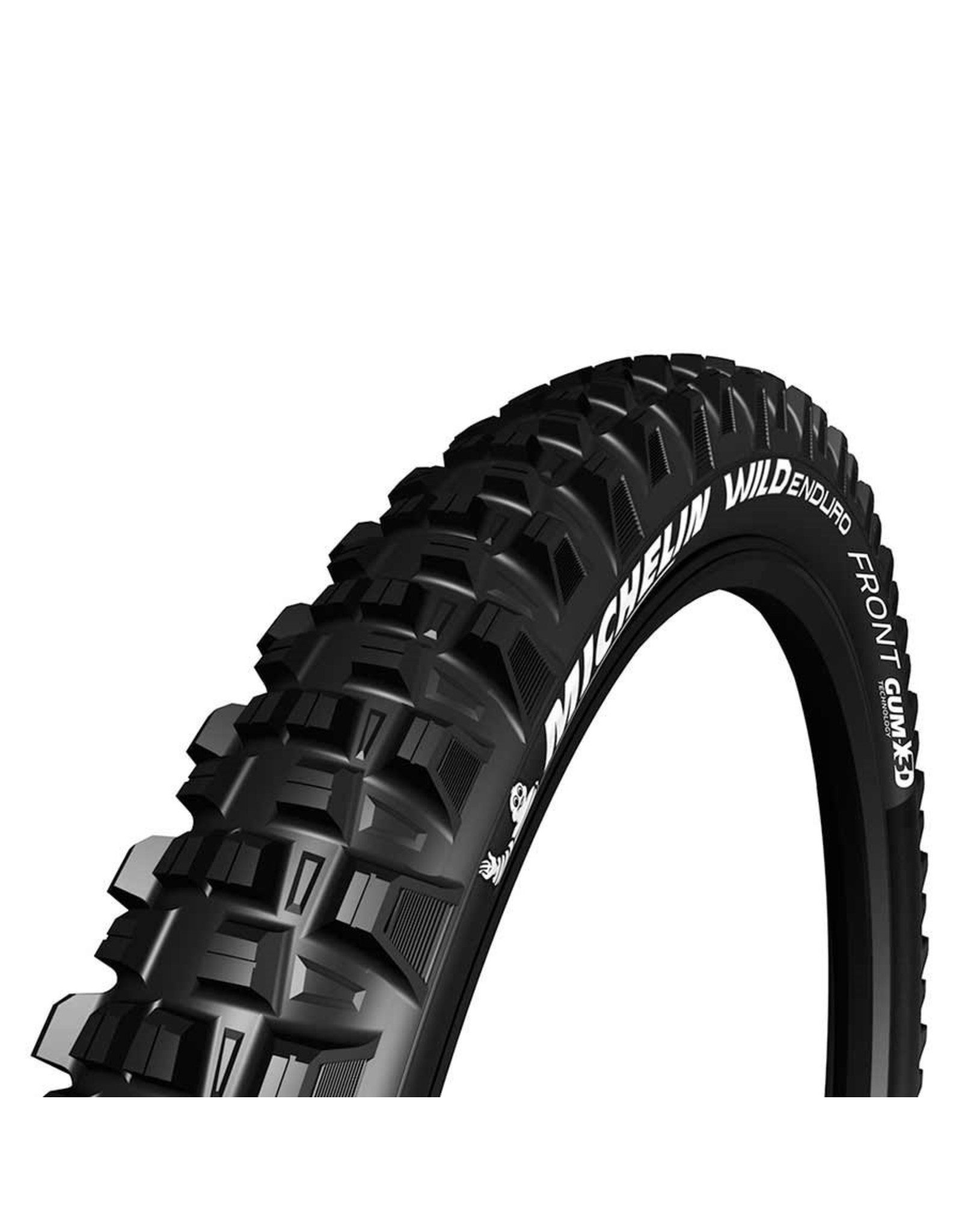 Michelin Wild Enduro Front, Tire, 27.5''x2.40, Folding, Tubeless Ready, GUM-X, GravityShield, 60TPI, Black