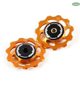 Hope JOCKEY WHEELS 11T PAIR ORANGE