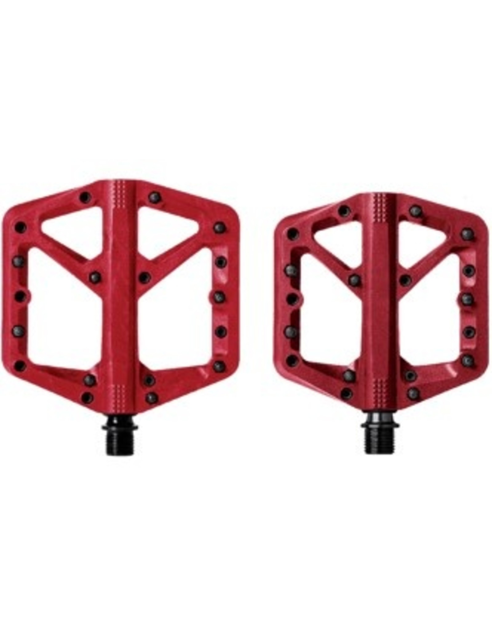 CRANK BROTHERS PÉDALE STAMP1 ROUGE - PETITE