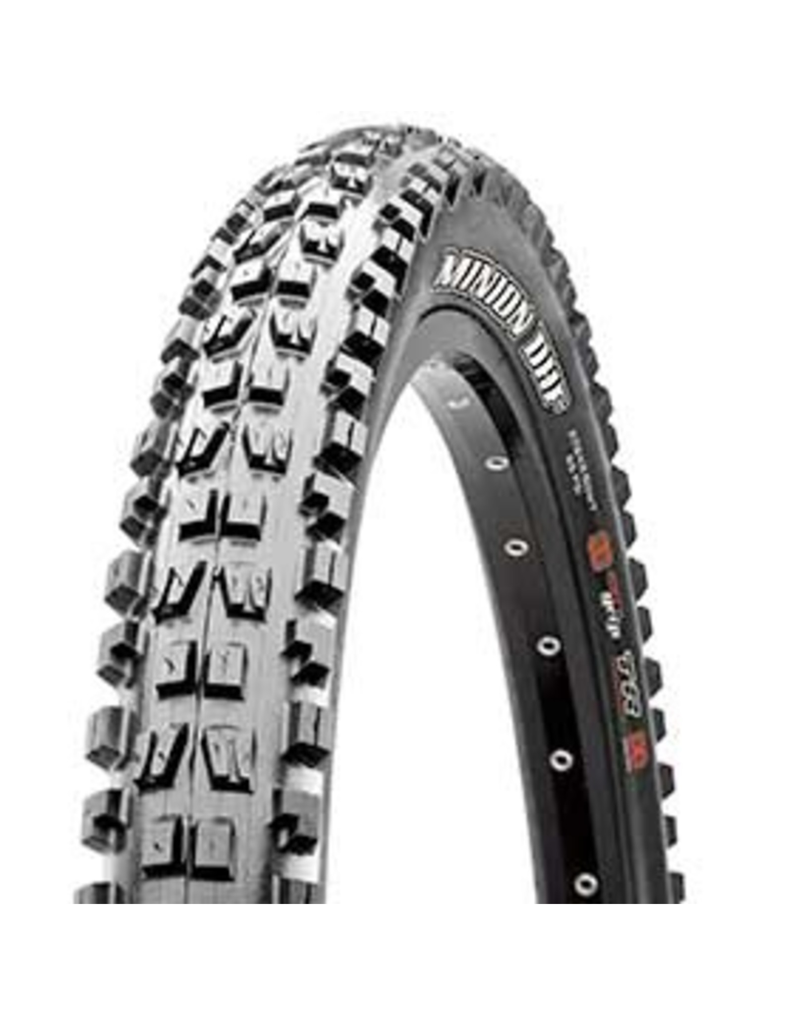 Maxxis Minion DHF, 29x2.30, Folding, 3C Maxx Terra, Tubeless Ready, EXO, 60TPI, 60PSI, Black