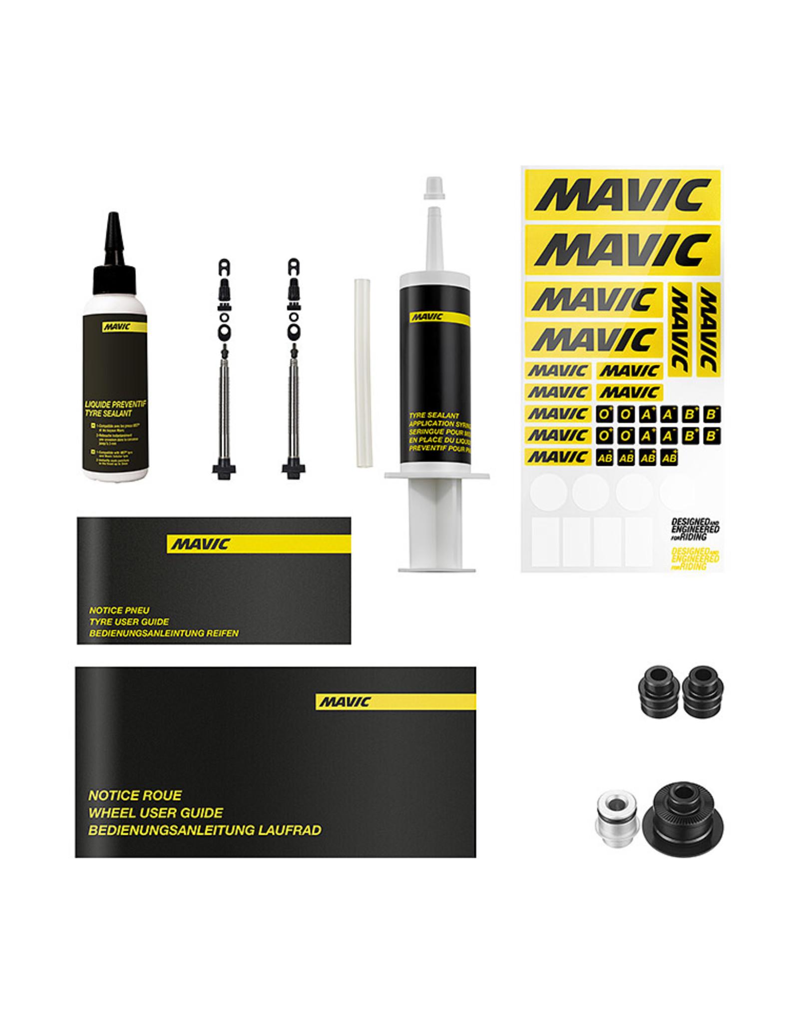 Mavic Roue Pro Ksyrium pro carbone ust front disque