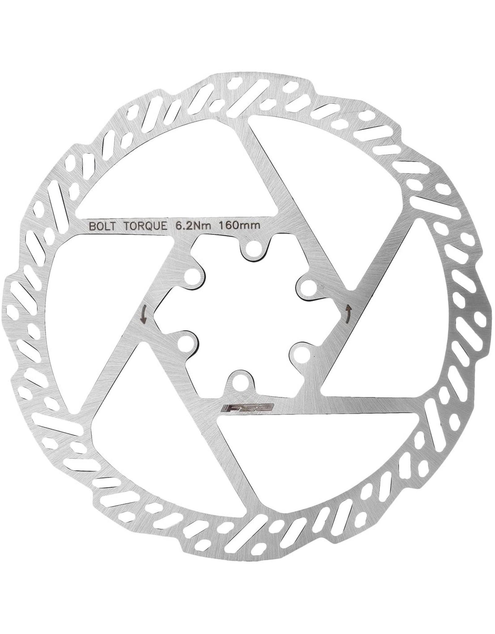 FSA K-Force 1-piece Disc Brake Rotor - 160mm